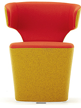 Allermuir Bison Tub Chair Mustard
