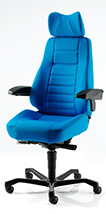 KAB Controller Chair all fabric
