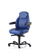 Kab Navigator leather office chair