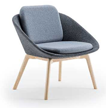 Ocee Design Dishy Chair in Grey