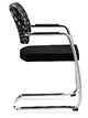 Ocee Design Panache Cantilever Chair, side view