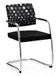 Ocee Design Panache cantilever Chair, front view