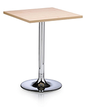 Ocee Design Rico Breakout Area Office Tables - Small square office table