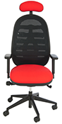 Status HF4 Cpod mesh back chair